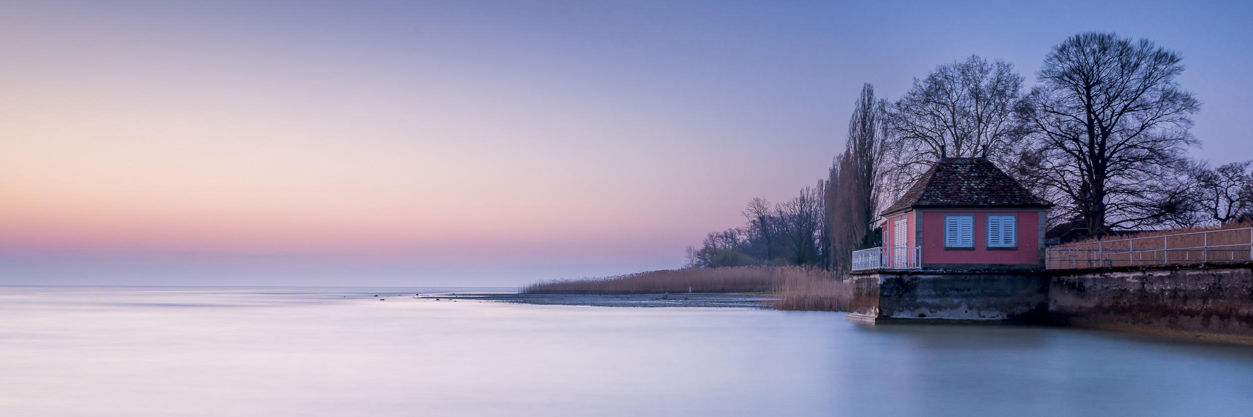 DAS BADEHAUS - Schöne Landschaft Bilder kaufen   Stimmungs Foto als Fineart by Stefan Somogyi Fotografie