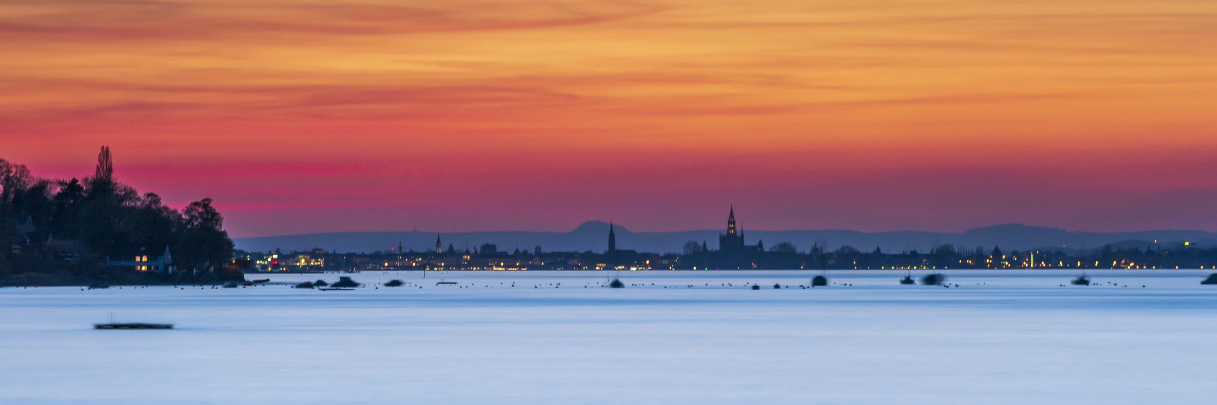 EVENING GLOW - Schöne Landschaft Bilder kaufen | Stimmungs Foto als Fineart by Stefan Somogyi Fotografie