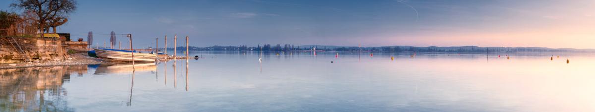 FISCHERBOOTE ERMATINGEN - Schöne Landschaft Bilder kaufen | Stimmungs Foto als Fineart by Stefan Somogyi Fotografie