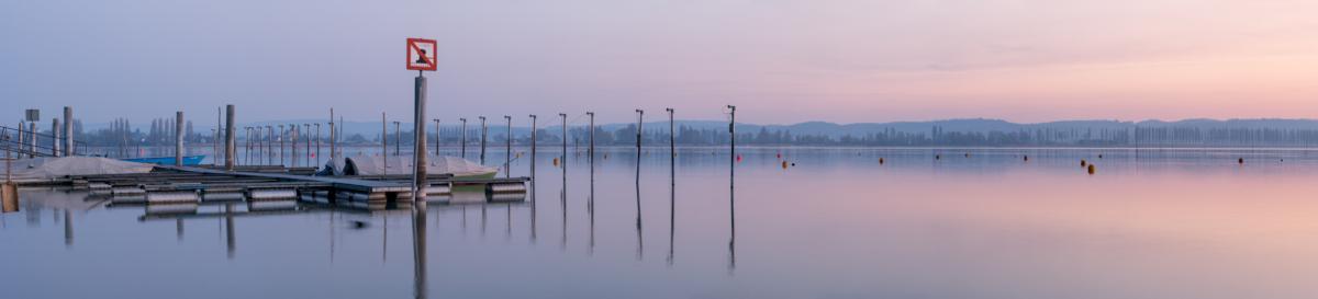 FISCHERHAFEN ERMATINGEN - Schöne Landschaft Bilder kaufen | Stimmungs Foto als Fineart by Stefan Somogyi Fotografie