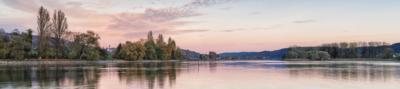 HERBST AM RHEIN - Schöne Landschaft Bilder kaufen | Stimmungs Foto als Fineart by Stefan Somogyi Fotografie