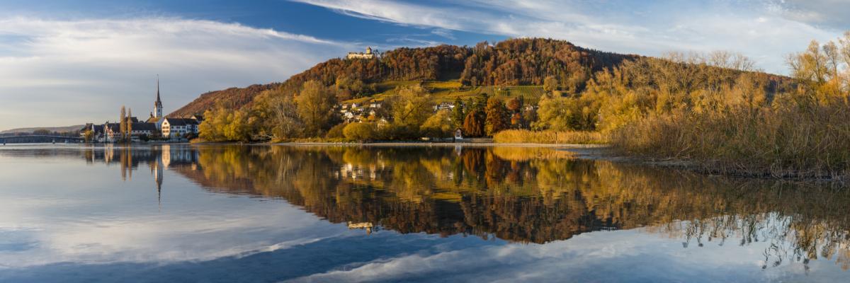 STEIN AM RHEIN - Schöne Landschaft Bilder kaufen | Stimmungs Foto als Fineart by Stefan Somogyi Fotografie