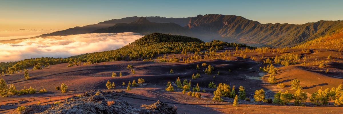 LLANOS DEL JABLE SUNSET - Schöne Landschaft Bilder kaufen   Stimmungs Foto als Fineart by Stefan Somogyi Fotografie