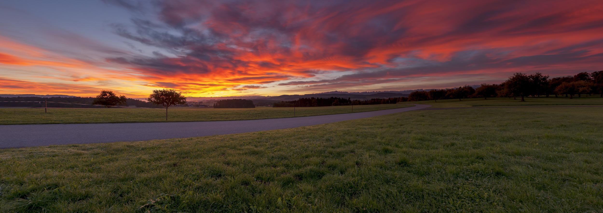 FARBENES ALPENPANORAMA - Schöne Landschaft Bilder kaufen | Stimmungs Foto als Fineart by Stefan Somogyi Fotografie