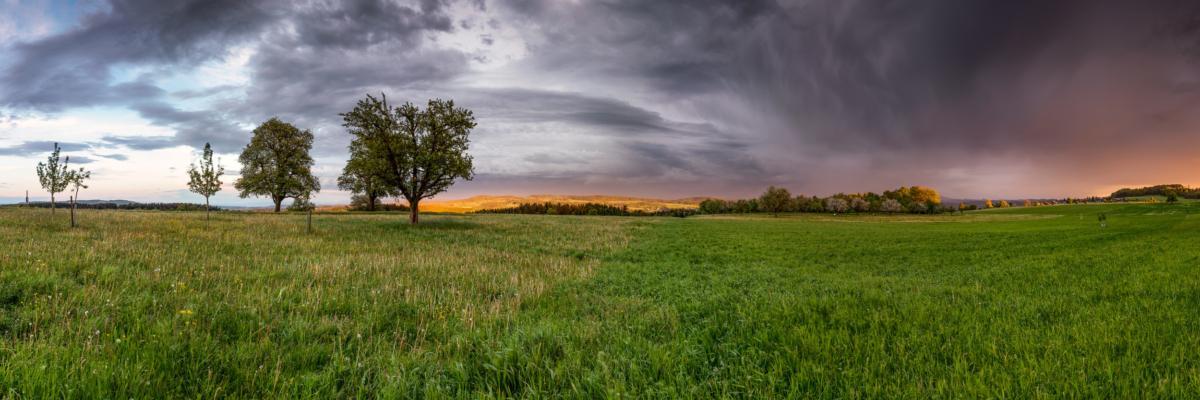 GEWITTERFRONT - Schöne Landschaft Bilder kaufen | Stimmungs Foto als Fineart by Stefan Somogyi Fotografie