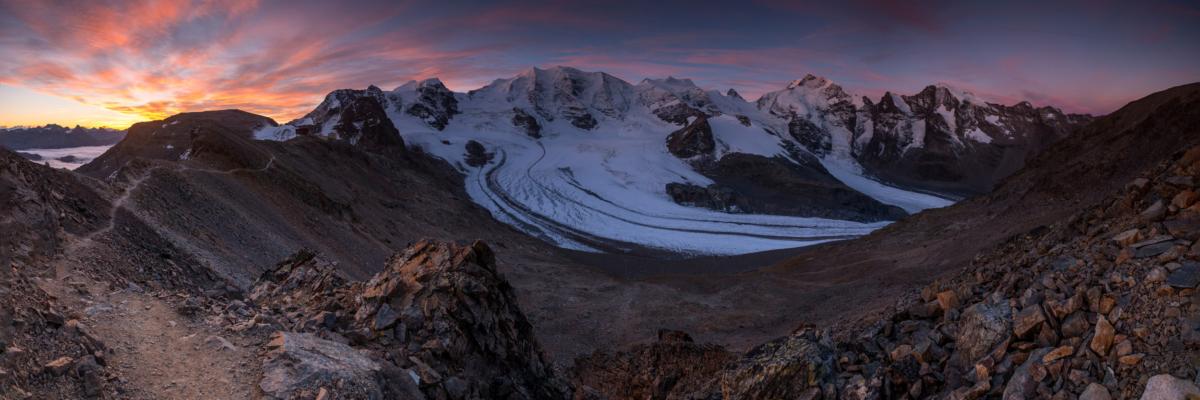 GLACIER GLORY - Schöne Landschaft Bilder kaufen | Stimmungs Foto als Fineart by Stefan Somogyi Fotografie