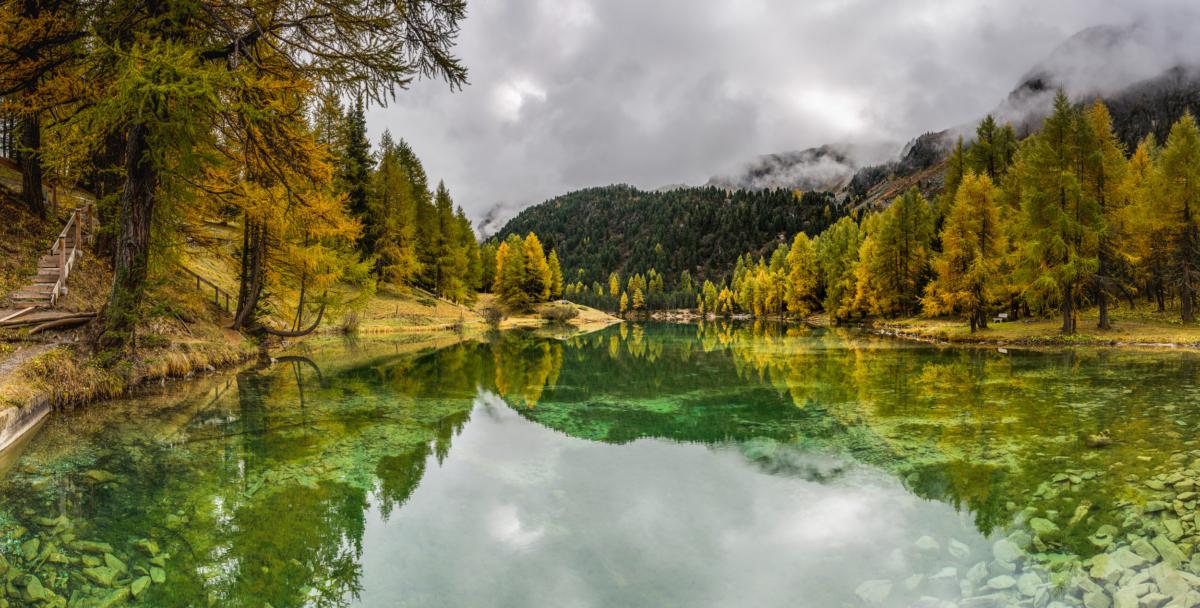 LAI DA PALPUOGNIA I - Schöne Landschaft Bilder kaufen | Stimmungs Foto als Fineart by Stefan Somogyi Fotografie