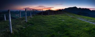 MORGENERWACHEN HOCHALP - Schöne Landschaft Bilder kaufen | Stimmungs Foto als Fineart by Stefan Somogyi Fotografie
