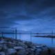 MOONRISE AT THE LAKE - Schöne Landschaft Bilder kaufen | Stimmungs Foto als Fineart by Stefan Somogyi Fotografie